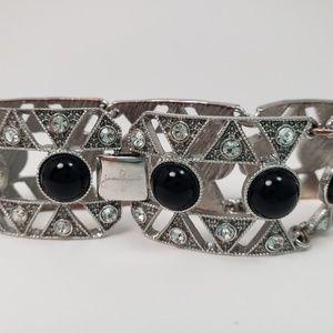 Art Deco Style Jewelmint Bracelet
